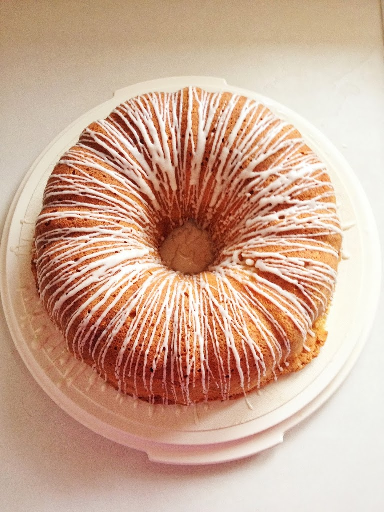 how to make icing for pound cake