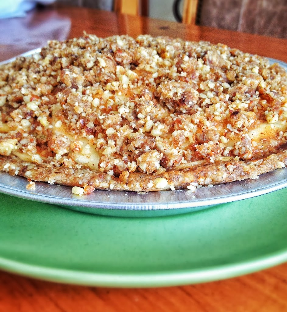 raw apple pie| will bake for books