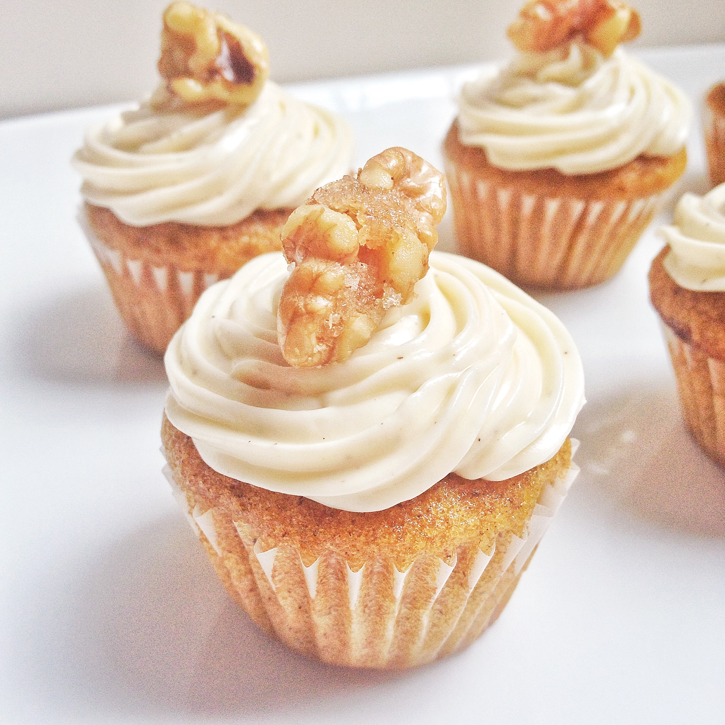 Pumpkin Cupcakes With Maple Cream Cheese Frosting Will