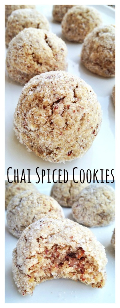 chai spiced cookies {gluten-free, grain-free} | will bake for books