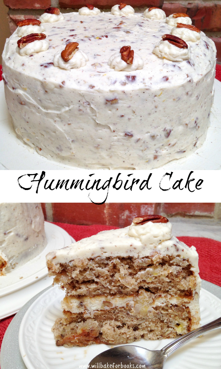 Hummingbird Cake | will bake for books