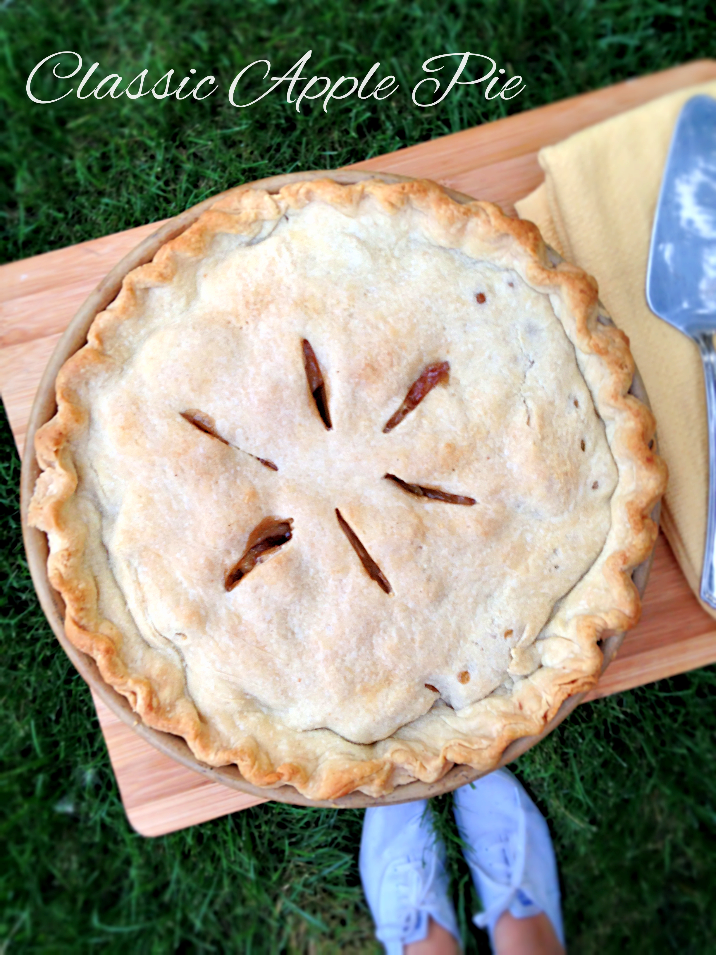 Classic Apple Pie | will bake for books