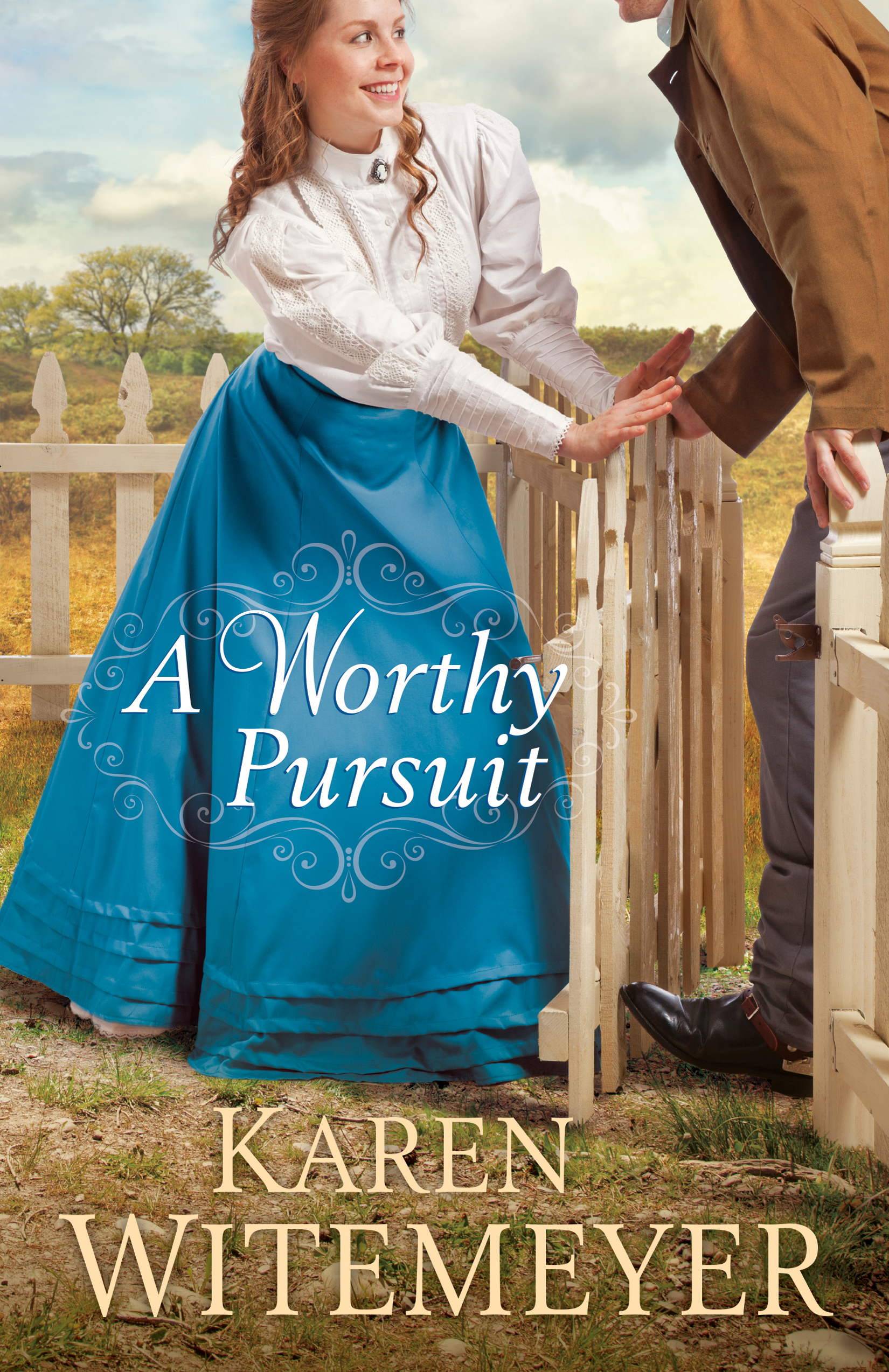 Book Review: A Worthy Pursuit by Karen Witemeyer on www.willbakeforbooks.com