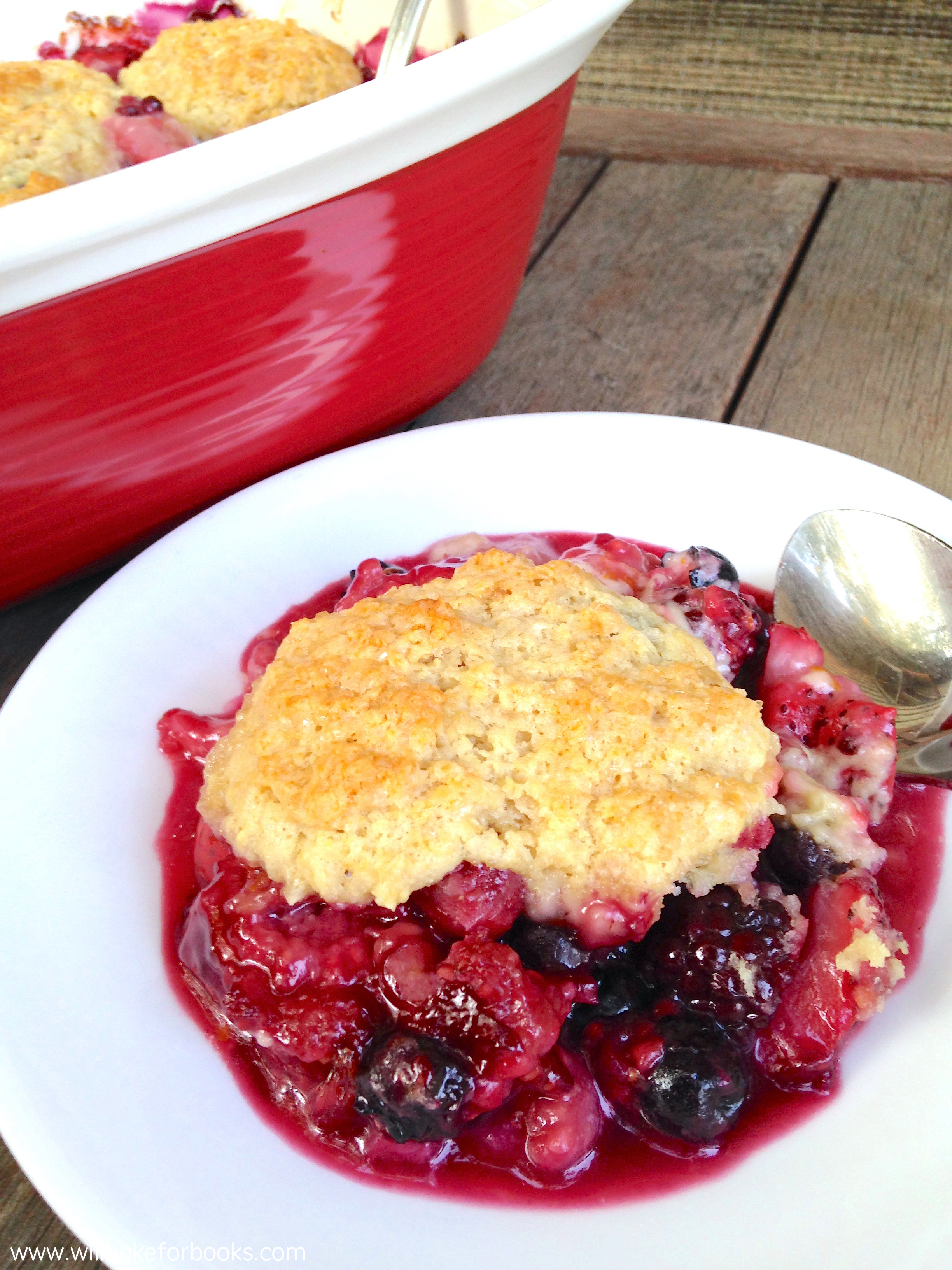 Berry Cobbler | Will Bake for Books