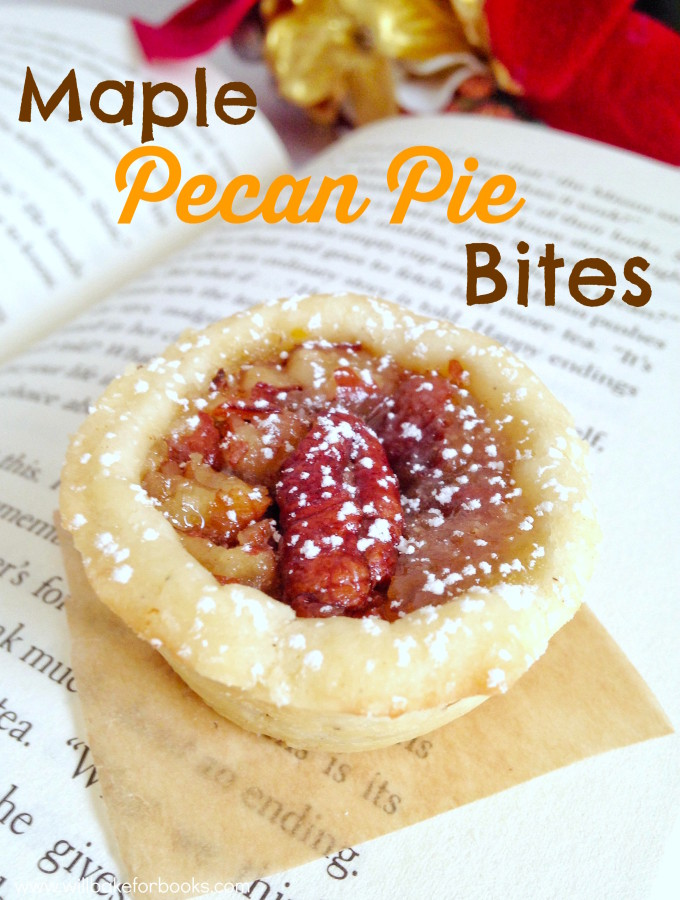 Maple Pecan Pie Bites