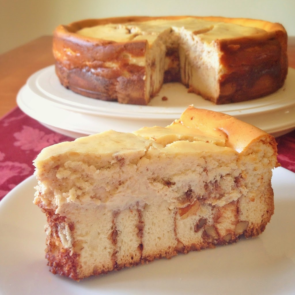 cinnamon roll cheesecake | will bake for books
