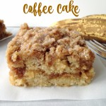 Banana Crumb Coffee Cake on willbakeforbooks.com