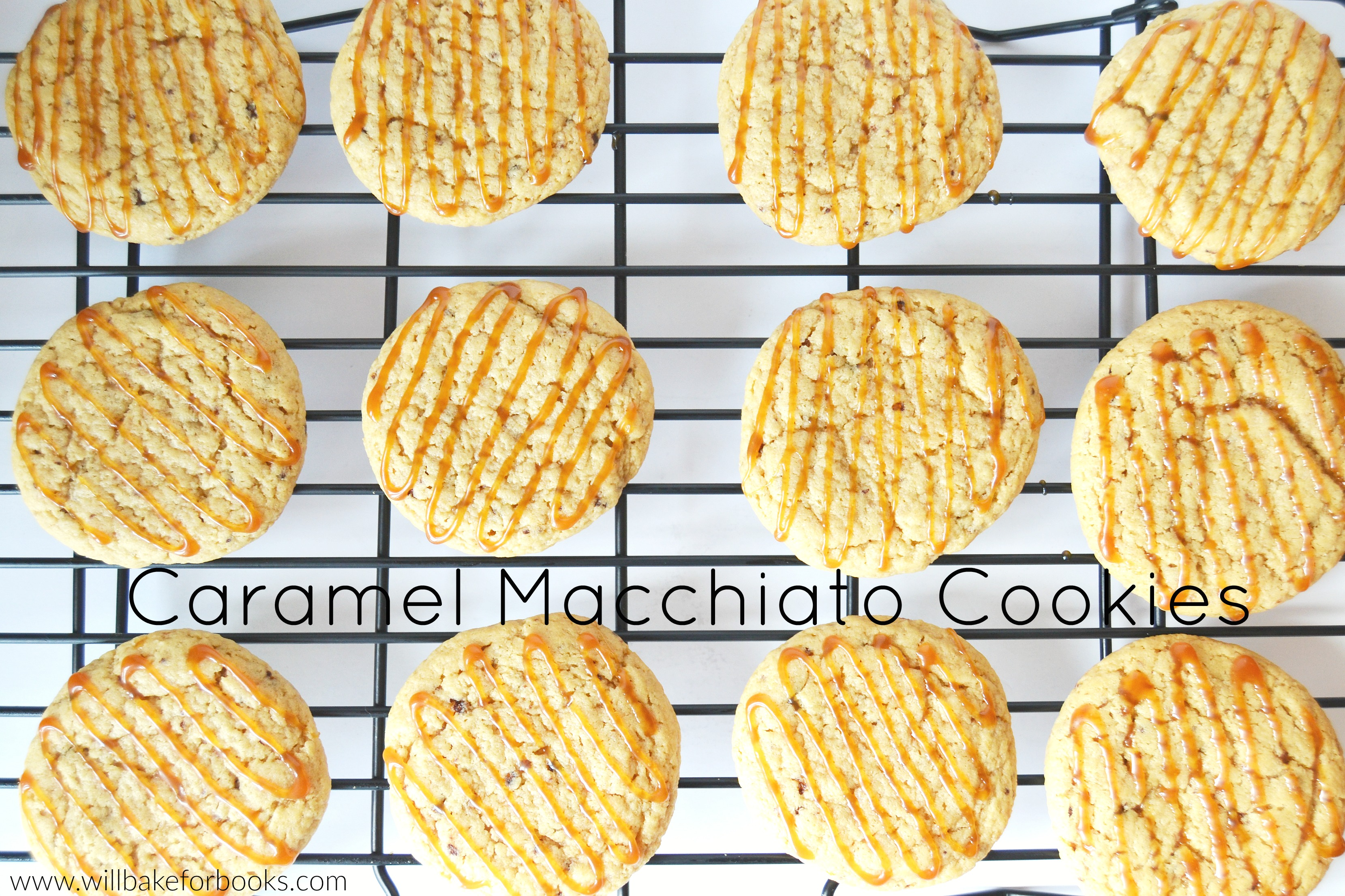 Caramel Macchiato Cookies on willbakeforbooks.com