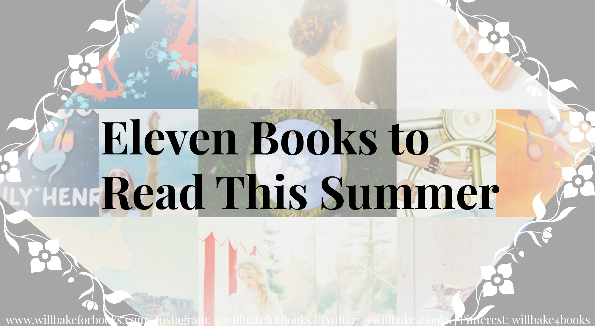 Eleven Books to Read This Summer