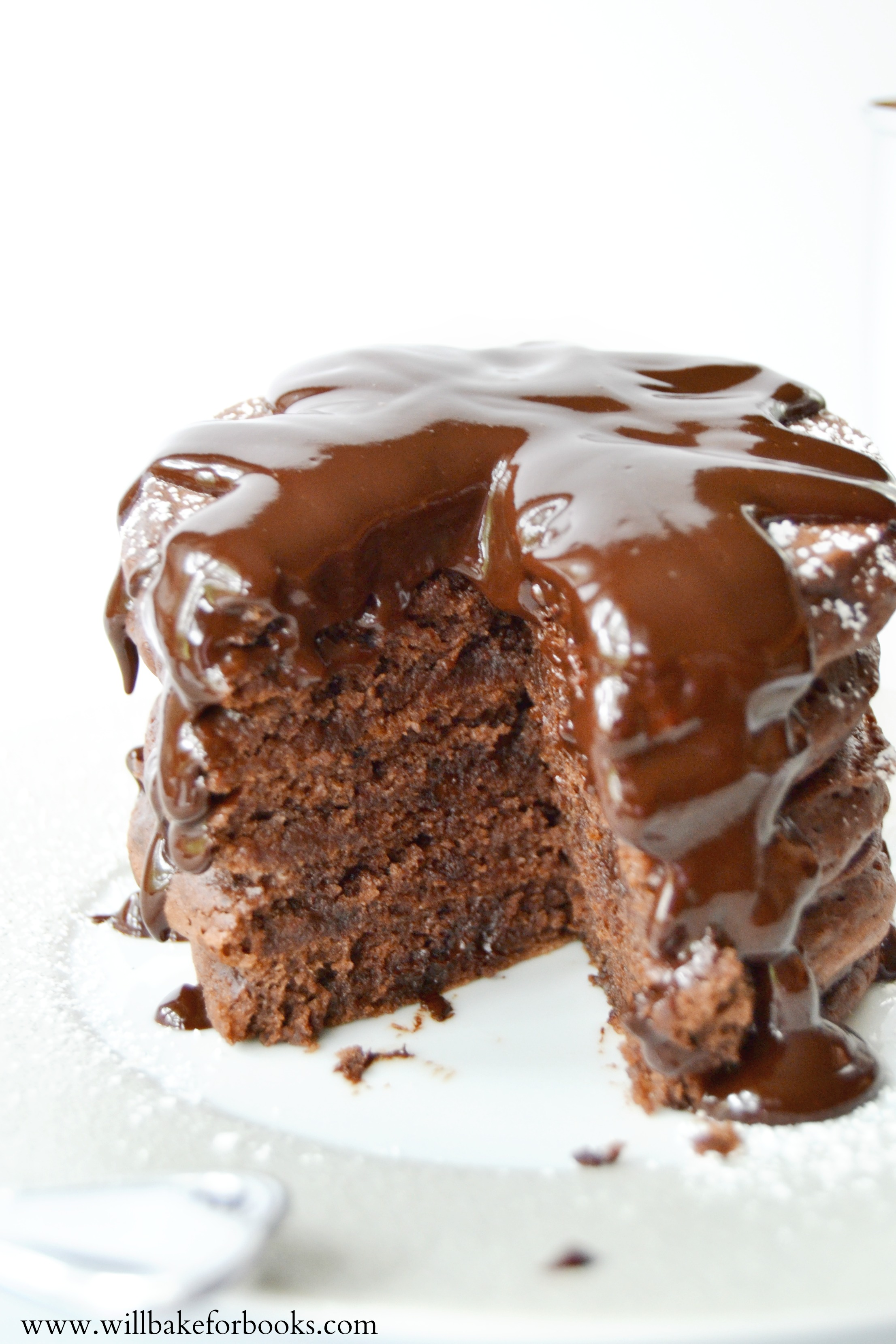 Brownie Pancakes on willbakeforbooks.com