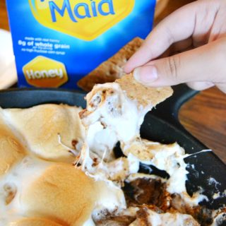 Reese's S'mores Dip on willbakeforbooks.com