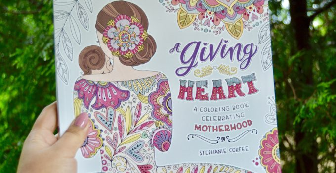 REVIEW: A Giving Heart and Joyful Inspirations Coloring Books